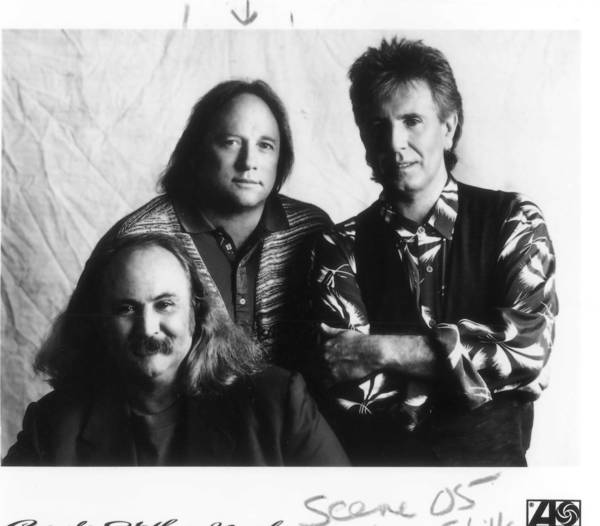 David Crosby, Stephen Stills and Graham Nash perform Sunday at Hard Rock Live in Orlando.
