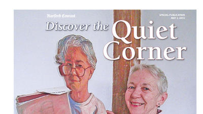 Discover the Quiet Corner <br>May 2, 2013 <br><br>Click to View Section