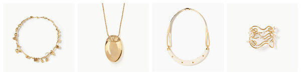 Fall 2013 creations by Paris-based jewelry designer Aurelie Bidermann.
