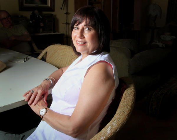 """I've always said I wanted Michelle Obama arms,"" said Plantation retiree Bonnie Sibner."