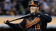 First baseman Chris Davis was voted the American League Player of the Month for April, becoming the first Oriole to earn that honor since Melvin Mora in August 2008.