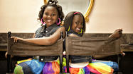 Sisters in elementary school start lip gloss line to fight Sickle Cell