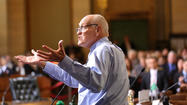 Los Angeles City Councilman Bill Rosendahl said Thursday that his cancer is in remission, announcing on his YouTube channel that medical marijuana played a critical role in his survival.