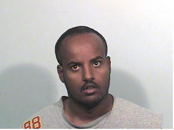 Booking photo of Mohamed Mohamed