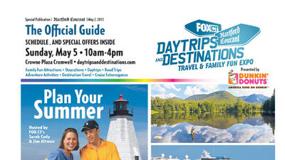 Daytrips & Destinations <br>May 2, 2013<br><br>Click Here to View Section