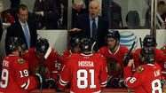 At one point Tuesday night, the Blackhawks' fourth line skated against the Wild's first line. In the context of most postseason series, this matchup might prompt concussion protocol tests for the coaching staff or questions about whether everyone else suddenly contracted plague.