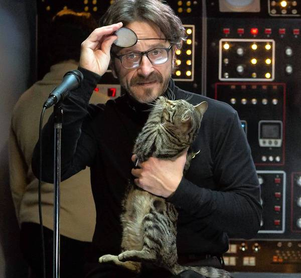 "Marc Maron, the star of IFC's new series ""Maron."""