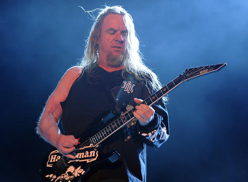 U.S. guitarist Jeff Hanneman, a co-founder of the seminal heavy metal band Slayer, died in Southern California on Thursday, May 2, the band said in a statement posted on their website. He was 49.