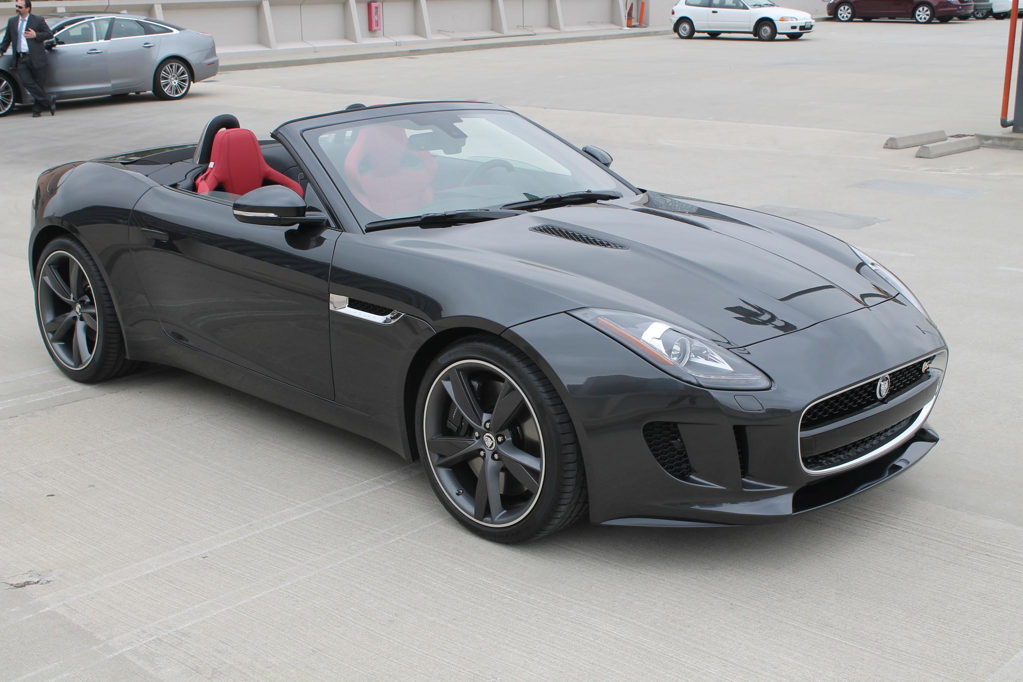 jaguar f type convertible la times. Black Bedroom Furniture Sets. Home Design Ideas