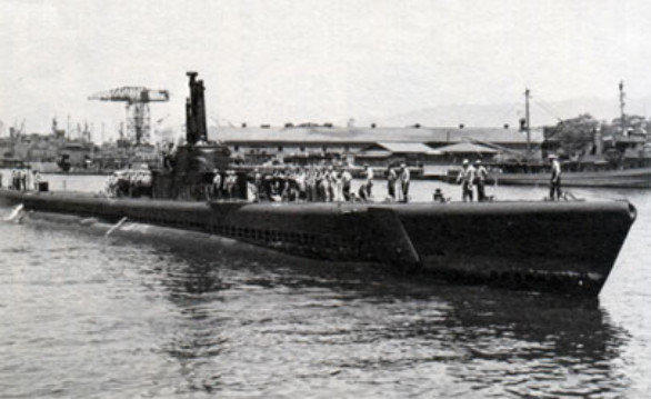Only nine crew members survived when the submarine Tang sank in 1944 in the Formosa Strait.