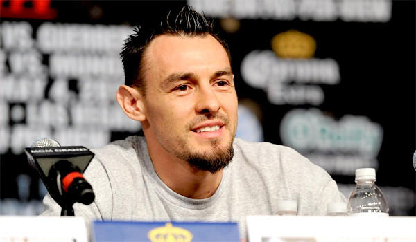 Robert Guerrero faces a daunting task in fighting Floyd Mayweather Jr. on Saturday, but the boxer says raising two kids and supporting his wife who has cancer is where he feels real pressure.