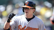 ANAHEIM, Calif. — Left fielder Nate McLouth is one of the Orioles' hottest hitters at the plate over the past two weeks, but it still hasn't been enough to earn everyday starts against left-handed pitching.