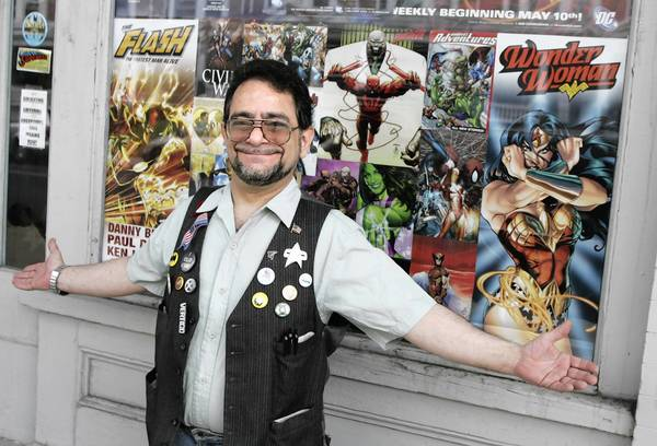 Beachead Comics of Allentown, owned by Jeff Rabkin, will give away books for Free Comic Book Day Saturday.
