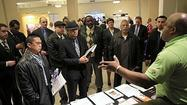 The U.S. unemployment rate fell to 7.5 percent as the U.S. economy added 165,000 jobs in April, the Labor Department reported Friday.