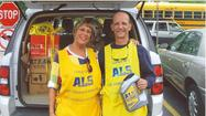 On May 18, volunteers wearing yellow aprons and holding collection canisters will be stationed near stores and at major intersections throughout Elmhurst as part of the Les Turner ALS Foundation's Tag Days drives. Bensenville resident Ninfa Queyquep is spearheading this effort in memory of her husband Eric who passed away from ALS (better known as Lou Gehrig's disease) in December of 2012. A true grassroots campaign, Tag Days helps increase awareness of ALS and also raises funds to support medical research, patient services and educational activities. The Elmhurst Tag Days drive is one of nearly 30 community drives in the Chicagoland area.