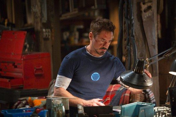 """Iron Man 3"" starring Robert Downey Jr. is expected to dominate the box office."