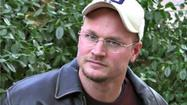 Augusten Burroughs is a man of many words, but he was at a loss the other night.