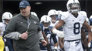 Penn State coach Bill O'Brien has made no secret that he wants to schedule a football game in Ireland but hasn't divulged many details yet. According to a report in the Orlando Sentinel, that game could happen next year against a fellow Irish coach.