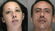 Two people were arrested in connection with a meth lab Thursday, the Volusia County Sheriff's Office reported.