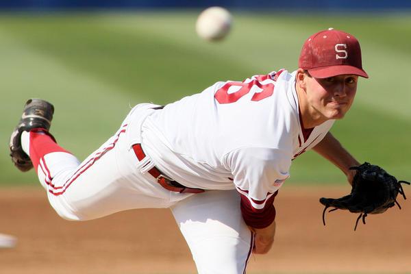 Stanford Cardinal pitcher Mark Appel.