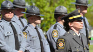 State police honored fallen troopers and recognized others for acts of bravery and service at a ceremony Thursday at the Bethlehem barracks.