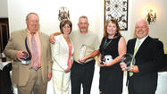 Ron Tierney was honored with the Winchester-Clark County Chamber of Commerce's top award at the annual banquet Thursday night at the Winchester Opera House.