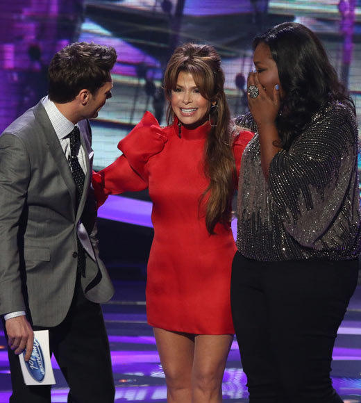 'American Idol' Season 12 best and worst moments: Paula Abdul graced the Idol stage once again, after Candice performed her Straight Up for the Year of Birth theme. It was delightful to see Paula back in the studio.