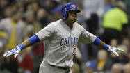 With right-hander Mike Leake on the mound for the Reds, the left-handed-hitting Luis Valbuena returns to his spot at third base for the Cubs. He and the right-handed-hitting Cody Ransom have combined to provide seven home runs, more than any other big-league team has gotten from the third-base position.
