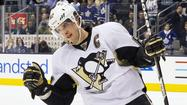 Pittsburgh Penguins' Crosby