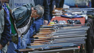 Gun shows would likely be banned from the Cow Palace in Daly City under legislation approved by the state Senate after some acrimonious debate.