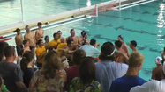 Watch: Water polo bad sport - South Florida player pushes opponent into pool