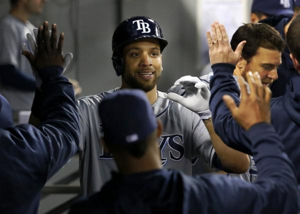 James Loney has found a home with the Tampa Bay Rays.