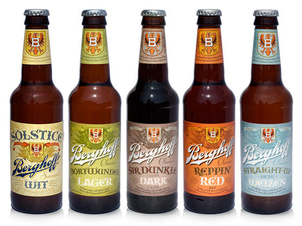 The new Berghoff beers will be contract brewed in Wisconsin.