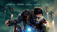 "Robert Downey Jr. as Tony Stark and Iron Man in a poster for ""Iron Man 3."" (Marvel)"