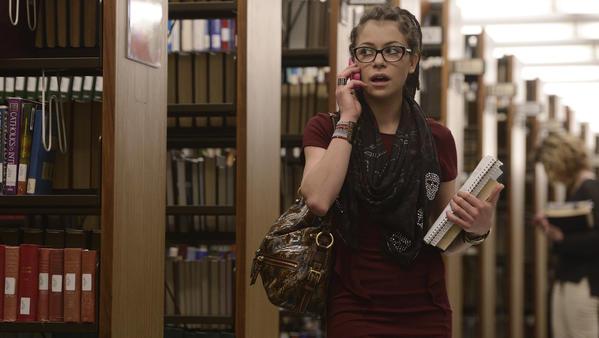 """Tatiana Maslany as Cosima in """"Orphan Black."""""""