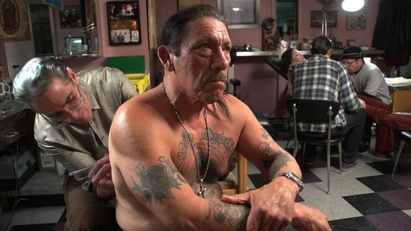 "Actor Danny Trejo in director Eric Schwartz's film ""Tattoo Nation."""