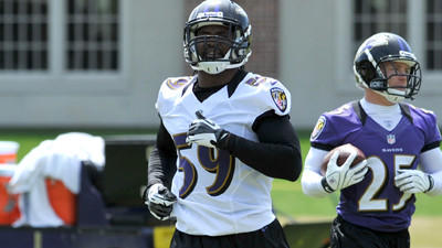 Ravens' rookie class getting acclimated to NFL