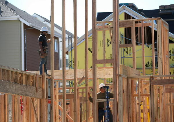 National homebuilders are reporting on a great first quarter. In the Chicago area, housing starts rose 37 percent.