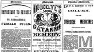 Series of patent medicine ads 1865