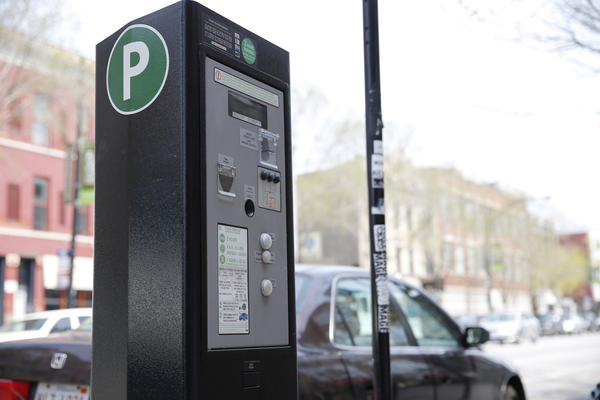 A parking meter on the 1700 block of W. Division St. in Chicago April 29, 2013.