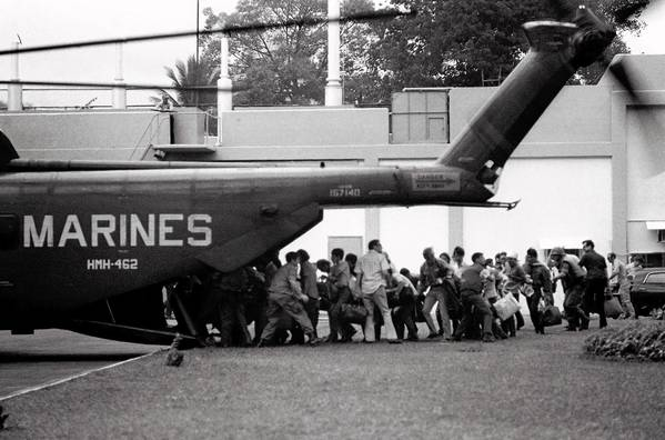 Some see parallels between the rushed evacuation of Saigon in 1975 and the exits from Iraq and Afghanistan today.