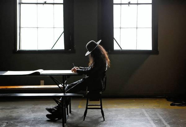 Amanda Demme in her studio in Atwater Village.