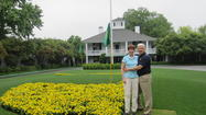 Muffet McGraw treated to a round at Augusta National