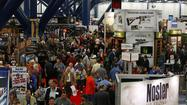 HOUSTON -- When the annual National Rifle Assn. convention opened Friday, the day after an incident in which a gunman died at George Bush Intercontinental Airport, attendees didn't shy away from discussing the incident.
