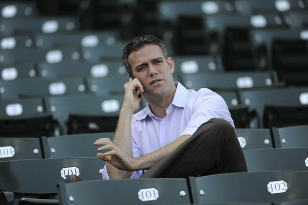 Cubs President of Baseball Operations Theo Epstein.