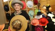 Jean Waters has so many hats, she's loaning them to her friends on the one day of the year that wearing an elaborate hat is very much in style: Kentucky Derby day.