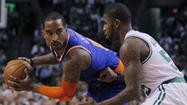 BOSTON -- Despite a valiant comeback try by the Boston Celtics, both in the series and the game, the New York Knicks are in the second round of the NBA playoffs for the first time since 2000.