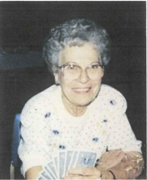 Violet Louise Shaunaman Thornton Knudson