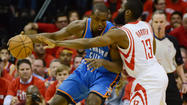 HOUSTON -- While the challenge proved far greater than anyone could have imagined following the opening three games of this series, the Oklahoma City Thunder finally found the gumption to finish the upstart Houston Rockets, claiming a 103-94 victory in Game 6 of this Western Conference quarterfinal series Friday night at Toyota Center.