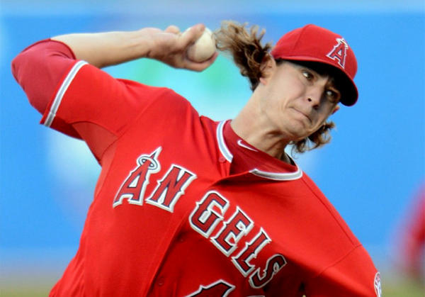 Angels' Garrett Richards moves back to a relief role.